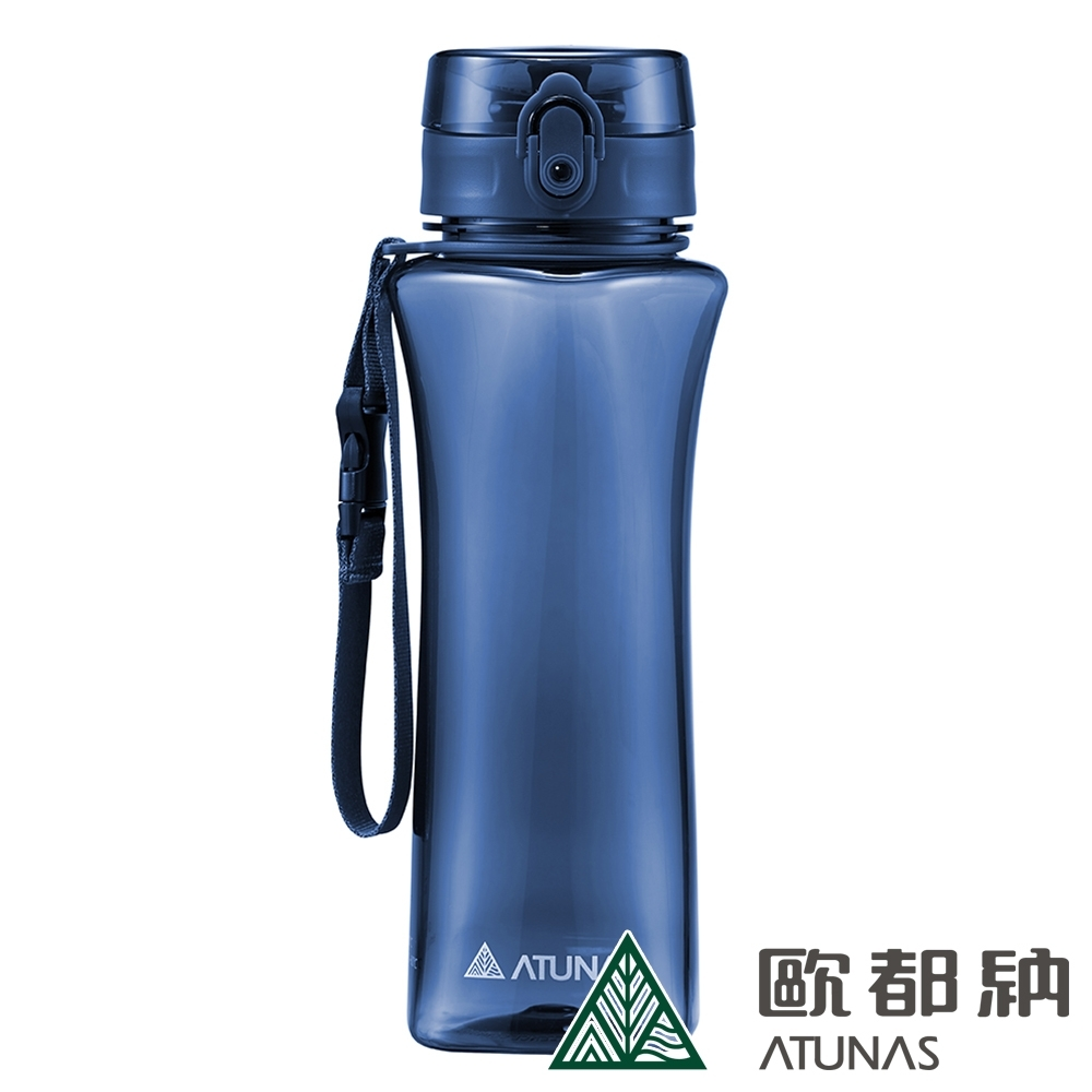 【ATUNAS 歐都納】玩美曲線Tritan運動水瓶/水壺/環保杯/彈蓋式/700ML/A1KTBB02N深藍