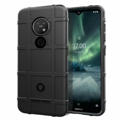PKG For:Nokia 7.<b>2</b> 抗震防摔-高規防護盾-黑