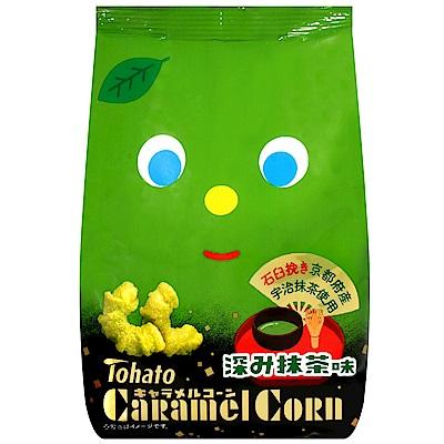 東鳩 焦糖玉米脆果-濃厚抹茶風味(77g)