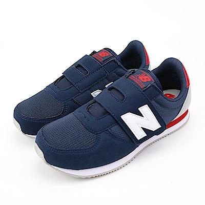New Balance 中大童休閒鞋-KV220C2Y-W 藍色