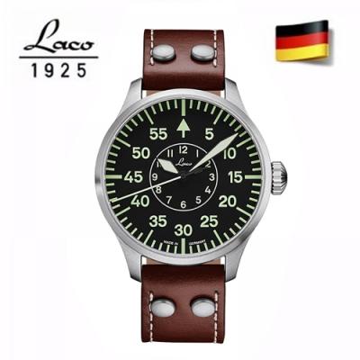 (時時樂)Laco 朗坤 德國工藝 Aachen 軍事風格自動機械錶-均一價回饋