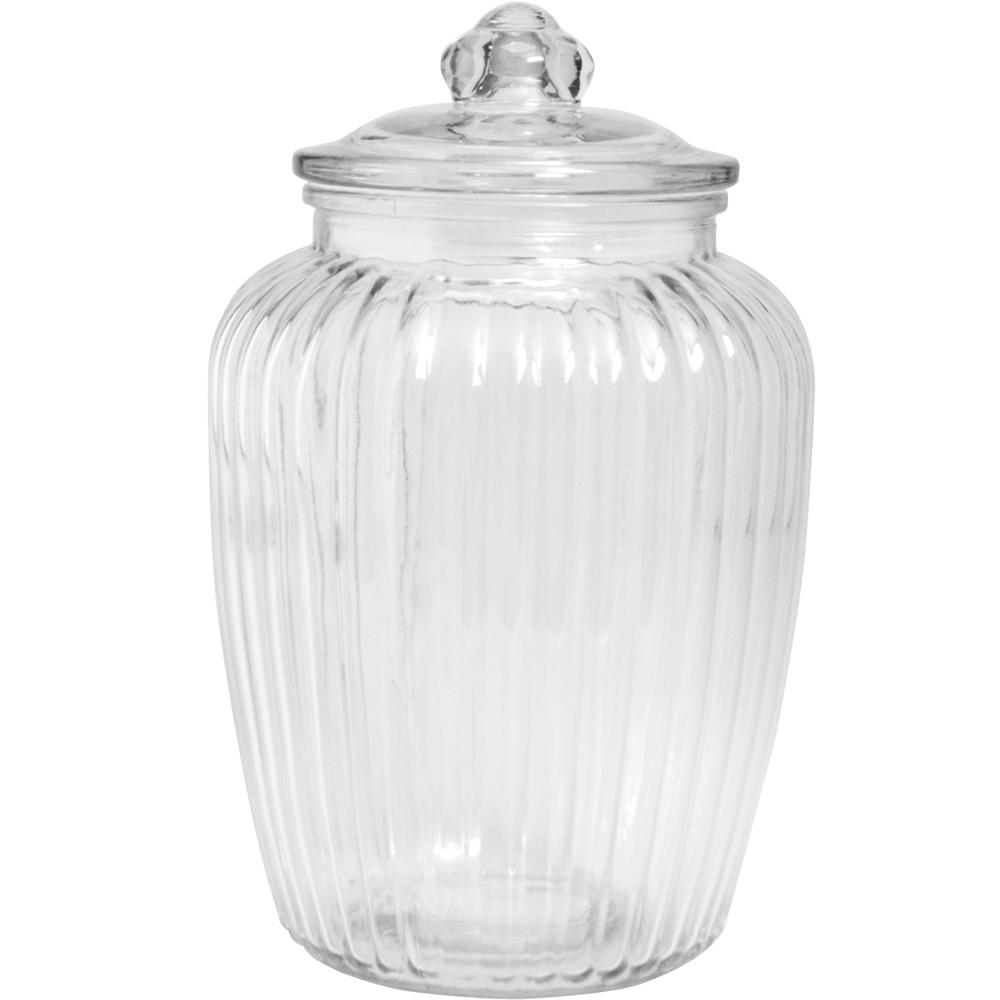 《EXCELSA》菊花紋玻璃密封罐(2300ml)