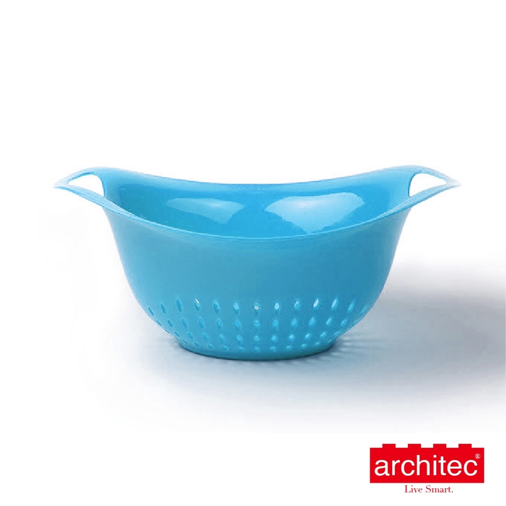 【Architec】樂高防滑濾籃-大(土耳其藍)