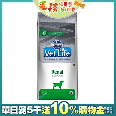 時時樂 Farmina法米納 天然處方糧-犬用腎臟配方(VDR-9)12kg
