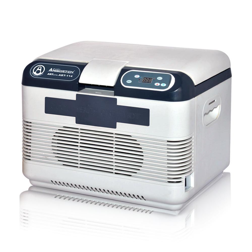 [Yahoo汽機車限定]【安伯特】雙制冷/熱型 數位溫控車用行動冰箱 15公升