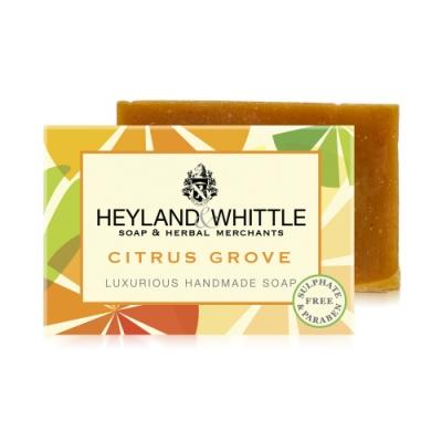 *H&W英倫薇朵 繽紛甜橙手工香氛皂120g