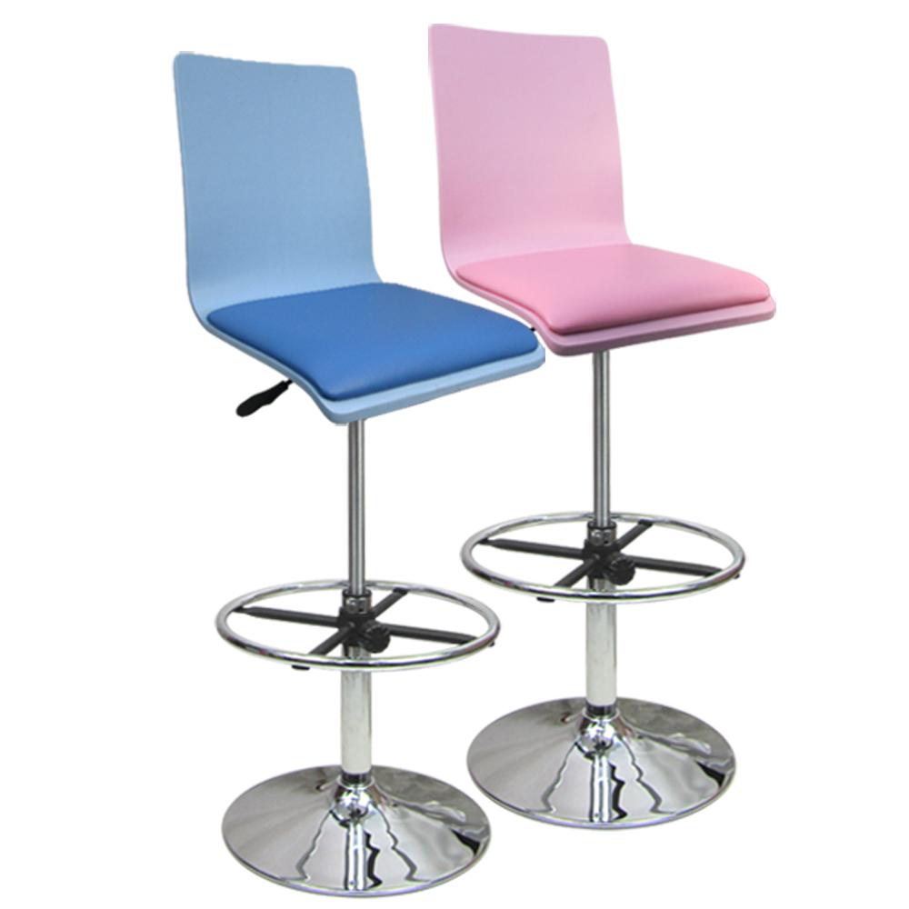 童話高吧椅 事務椅 曲木椅 吧台椅(兩色)