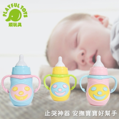 Playful Toys 頑玩具 燈光音樂奶瓶 (款式可挑選)