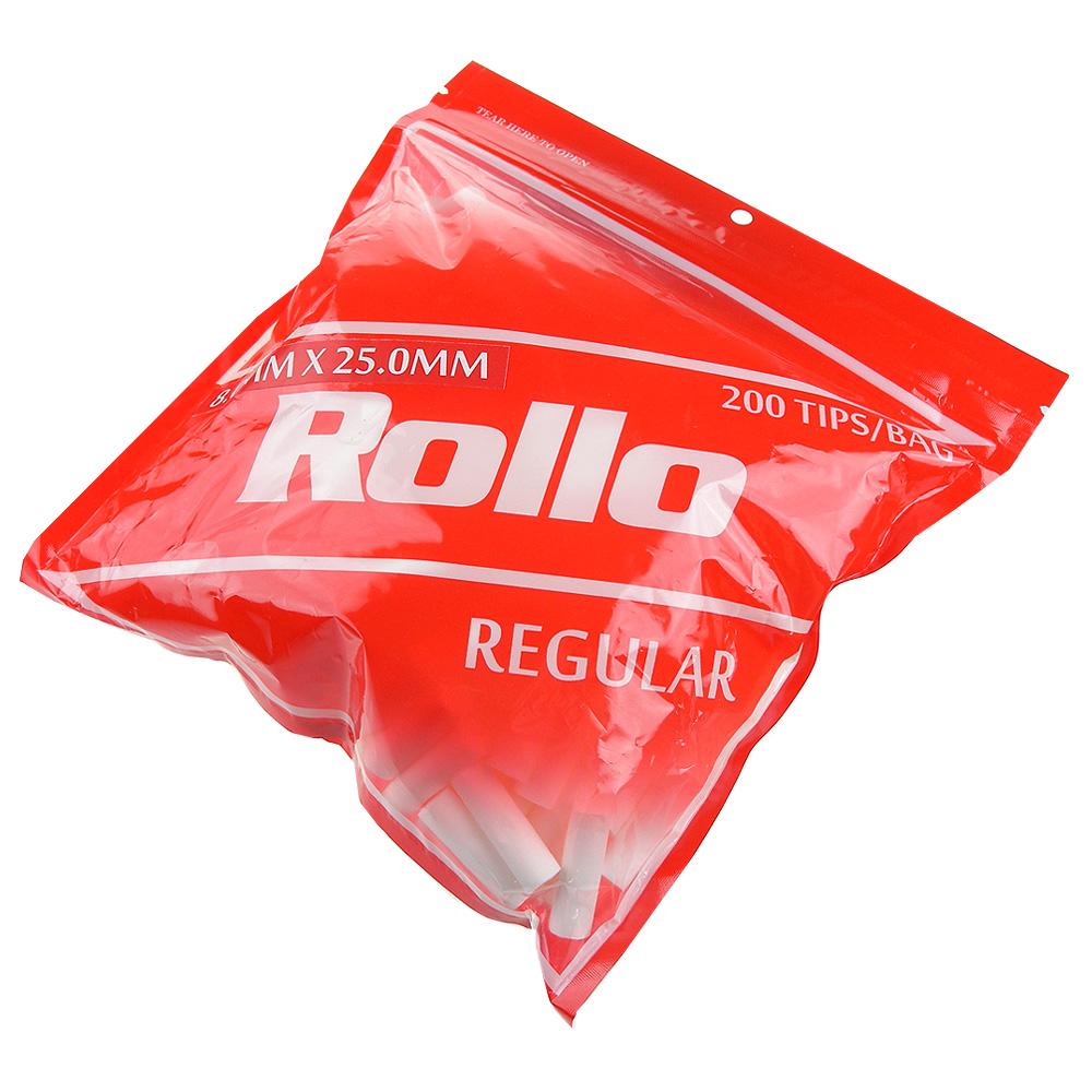 Rollo REGULAR-捲煙專用加長型濾嘴(8mm)*2包
