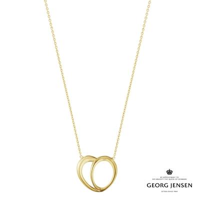 Georg Jensen 喬治傑生 OFFSPRING 18K金心型項鍊