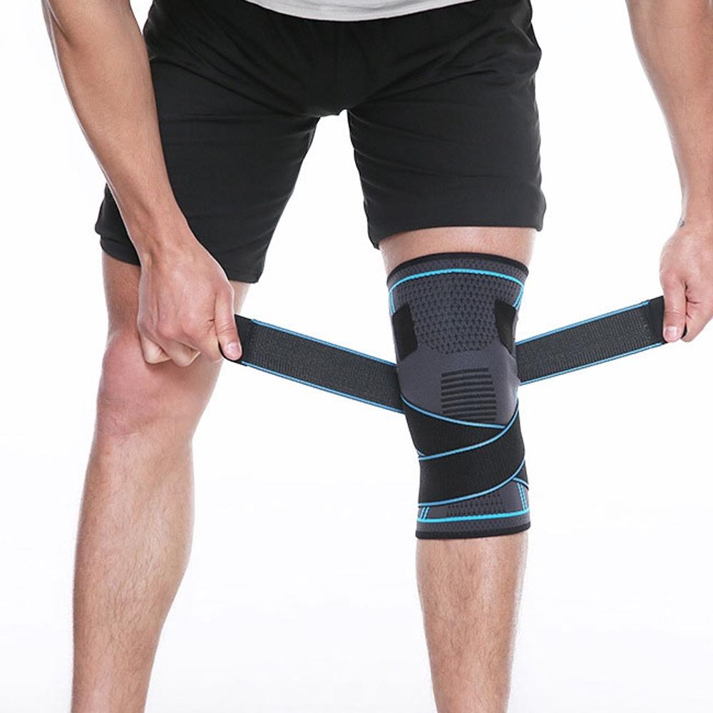 透氣加壓綁帶護膝(2入/雙)
