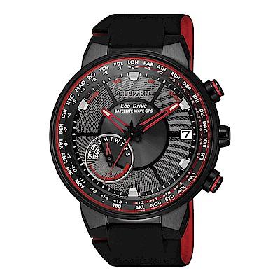 CITIZEN GPS潮流紅衛星對時光動能腕錶CC3079-11E