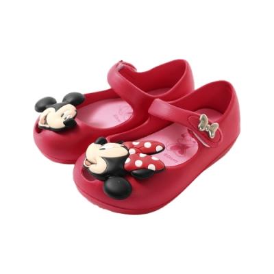 魔法Baby女童鞋 台灣製迪士尼米妮正版輕量公主鞋sd3025