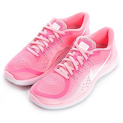 NIKE--女慢跑鞋898476601-粉