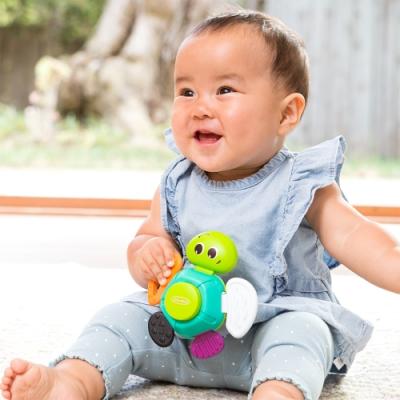 美國 Infantino 小小烏龜固齒器玩具