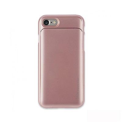 Skinplayer iPhone 8/ 7 口袋型收納手機保護殼-玫瑰金