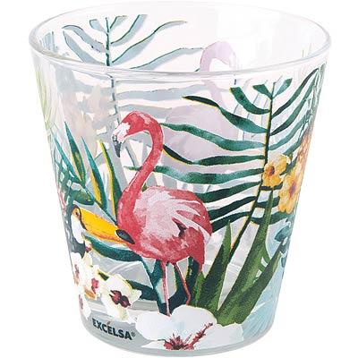 EXCELSA寬口玻璃杯熱帶雨林250ml