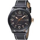 CITIZEN 星辰 復古時尚光動能限量腕錶(BM8538-10E)