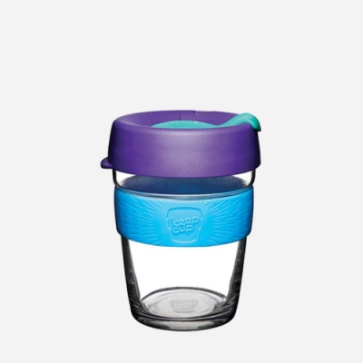 絕版出清-澳洲KeepCup 玻璃隨身杯醇釀系列340ml(M)-潮汐