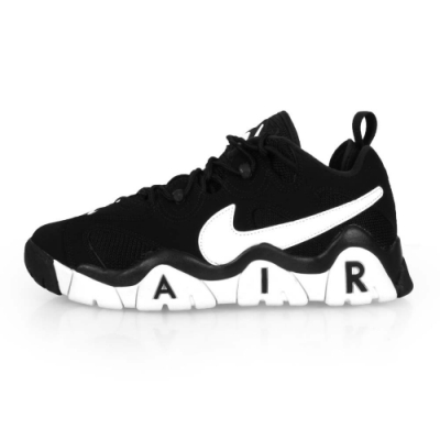 NIKE 男 籃球鞋 AIR BARRAGE LOW 黑白