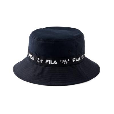 FILA 時尚筒帽-黑 HTV-1204-BK