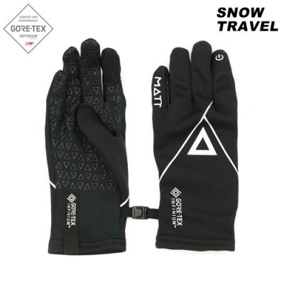 【Snow Travel】Gore Tex Infinium 防風保暖觸控手套 AR-84 / 黑色
