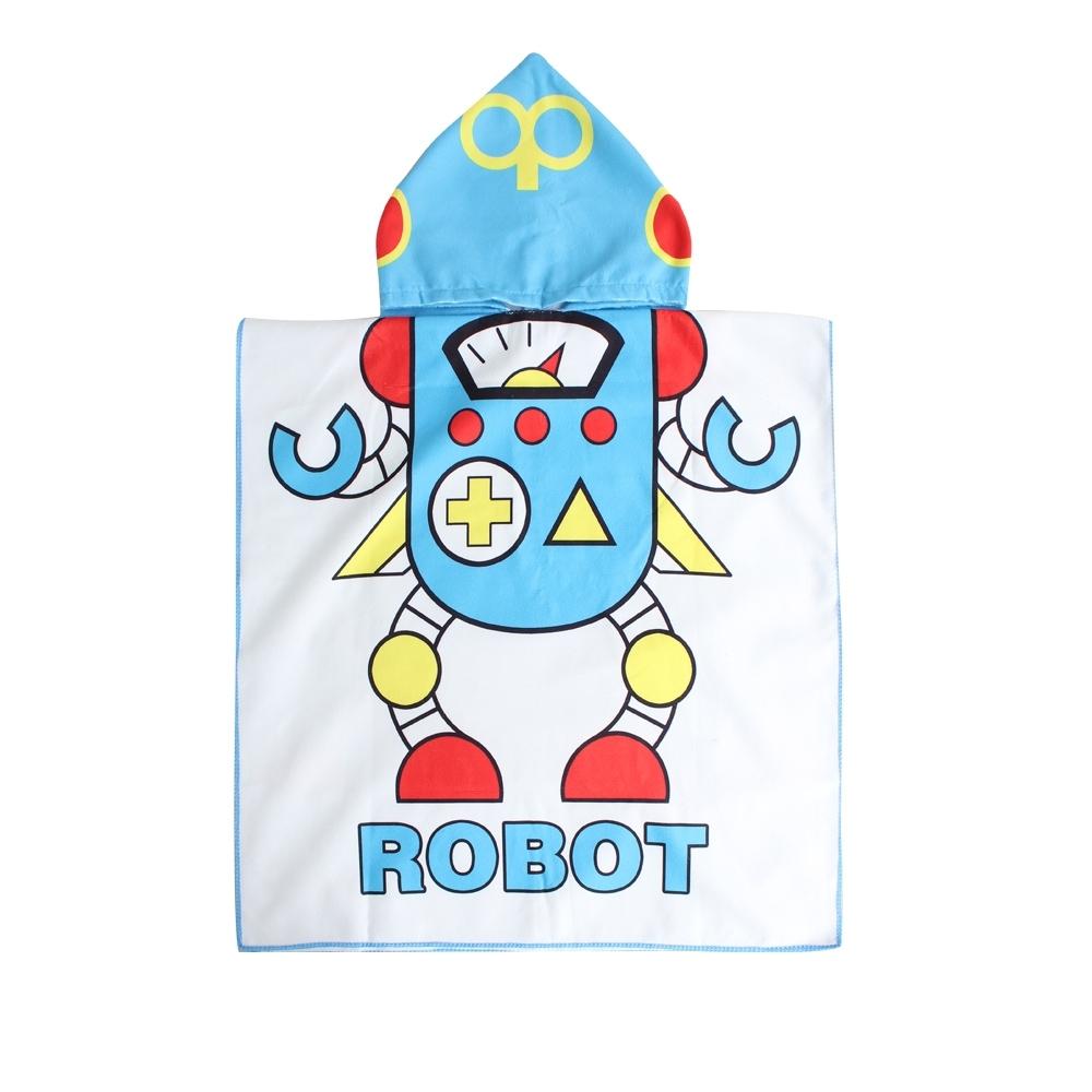 Baby童衣 兒童 卡通人物造型浴巾浴袍 88328