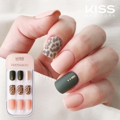 KISS New York-Press&Go頂級光療指甲貼片(你遲早會是別人的寶藏 KPNA24KA)
