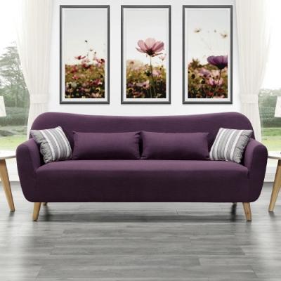 H&D 蘿莉三人座布沙發
