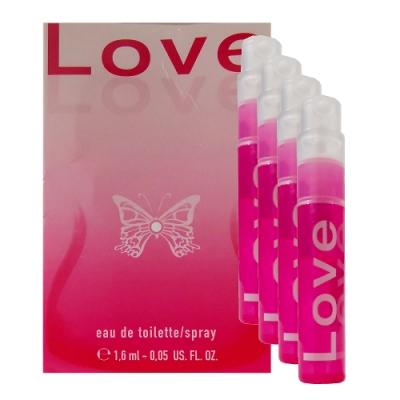 Love Love De Toi 戀愛物語淡香水 1.6ml x 4