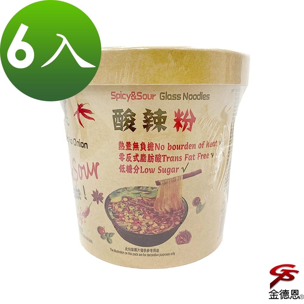 大瑪酸辣粉純素(133g/入)x6入