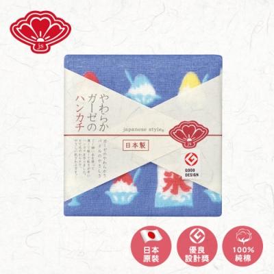 【日纖】日本泉州純棉方巾-沁涼仲夏30x30cm
