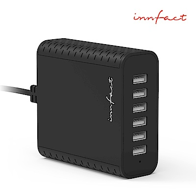 【innfact】B40 2.4A 六口座充快速充電器 (Basic)