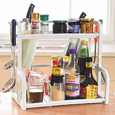 E-dot 多功能雙層廚房萬用置物收納架