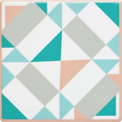 《KitchenCraft》石陶杯墊(幾何矩形)