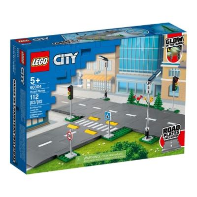 樂高LEGO 城市系列 - LT60304 道路底板