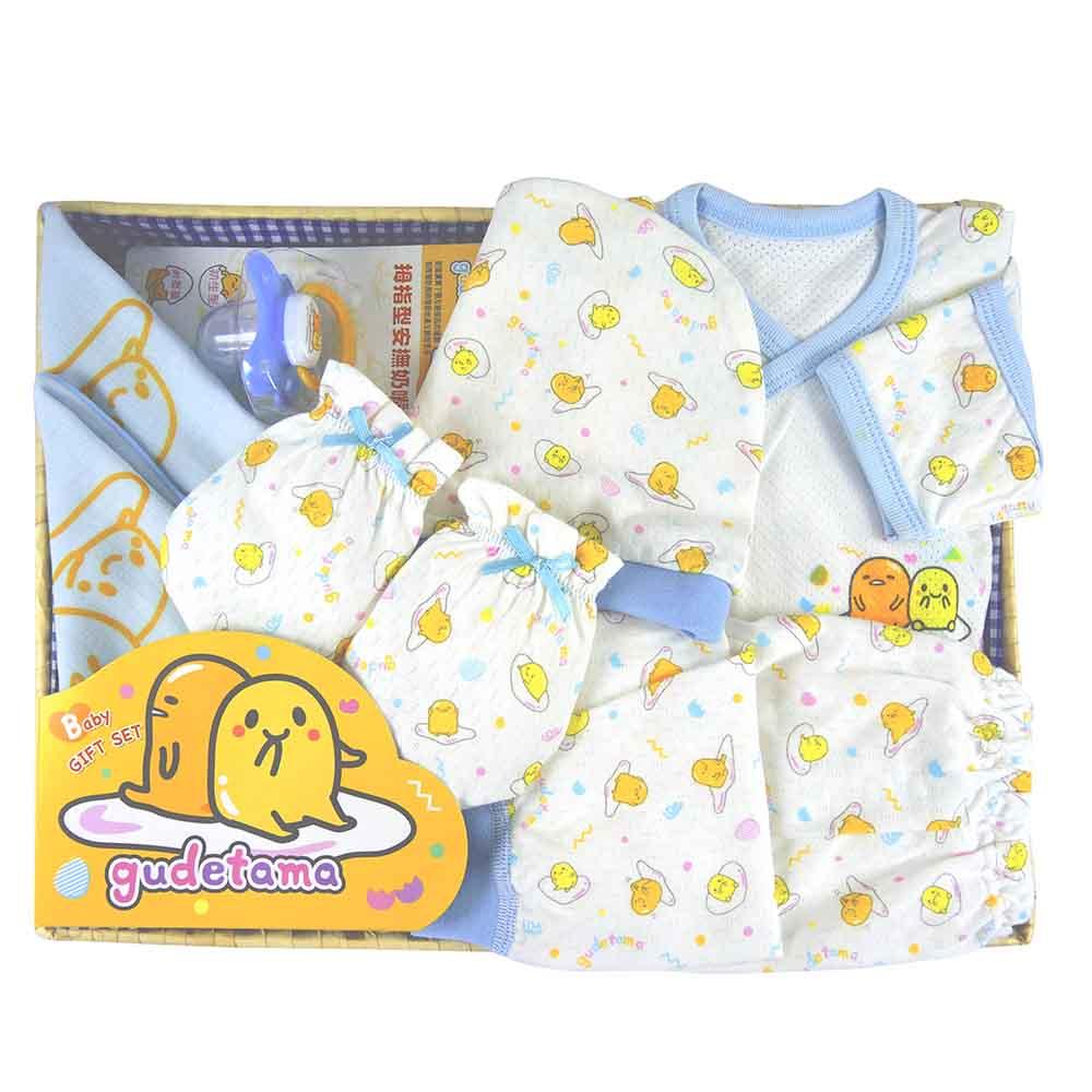 【麗嬰房】三麗鷗系列-蛋黃哥新生兒禮盒組