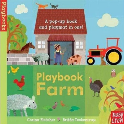 Playbook Farm 鄉村農場立體冒險書(英國版)