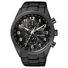 CITIZEN 星辰GENT'S光動能電波計時腕錶-黑(AT8105-53E)
