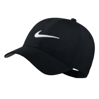 Nike 帽子 Legacy91 Golf Hat 男女款 吸濕排汗 快乾 透氣 遮陽 帽圍可調 黑 白 892651010