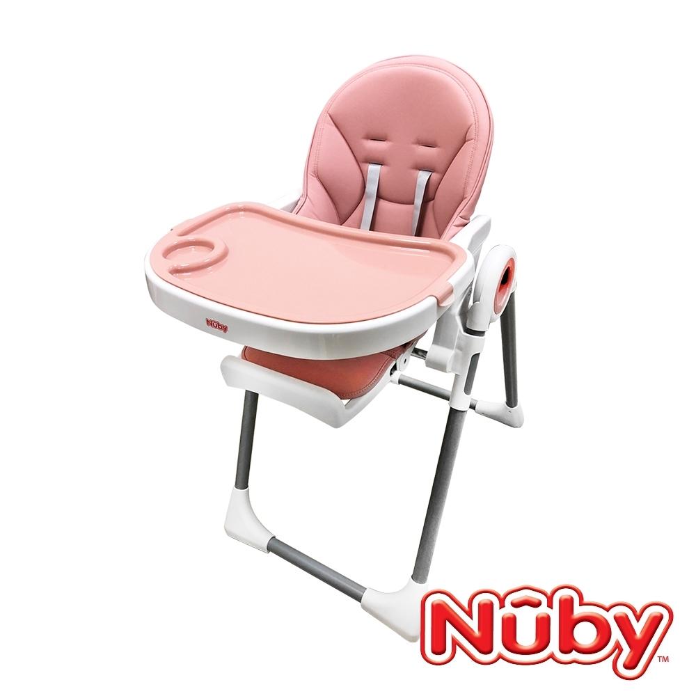 Nuby_多功能成長型高腳餐椅-山櫻粉