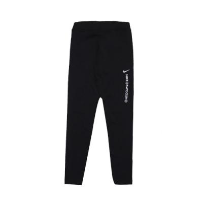 Nike 緊身褲 High-Rise Leggings 女款 運動休閒 內搭 健身 重訓 瑜珈 單車 黑 白 CZ8902010
