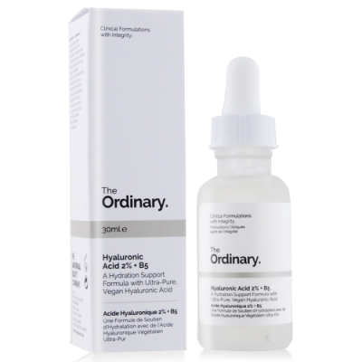 The Ordinary Hyaluronic Acid 2%+B5超純補水玻尿酸30ml