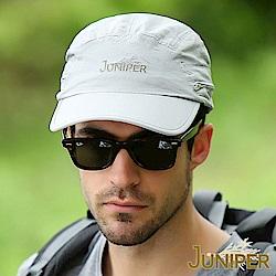 JUNIPER 吸濕排汗防潑水抗UV可收納披風護頸帽