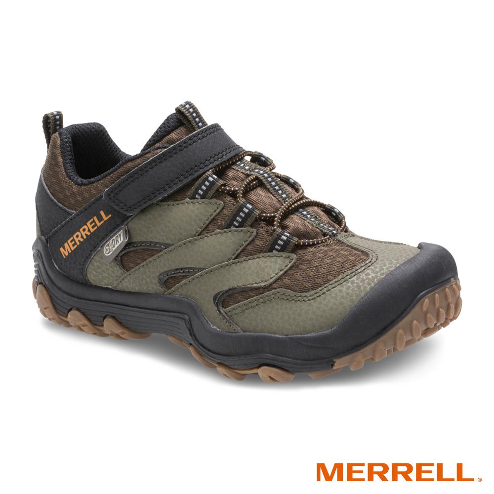 MERRELL CHAMELEON 7 WP 登山防水童鞋-棕(260337)