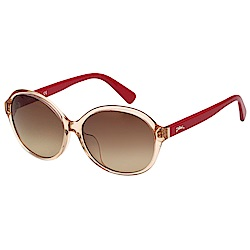 LONGCHAMP 太陽眼鏡 (透明茶色)LO620SA