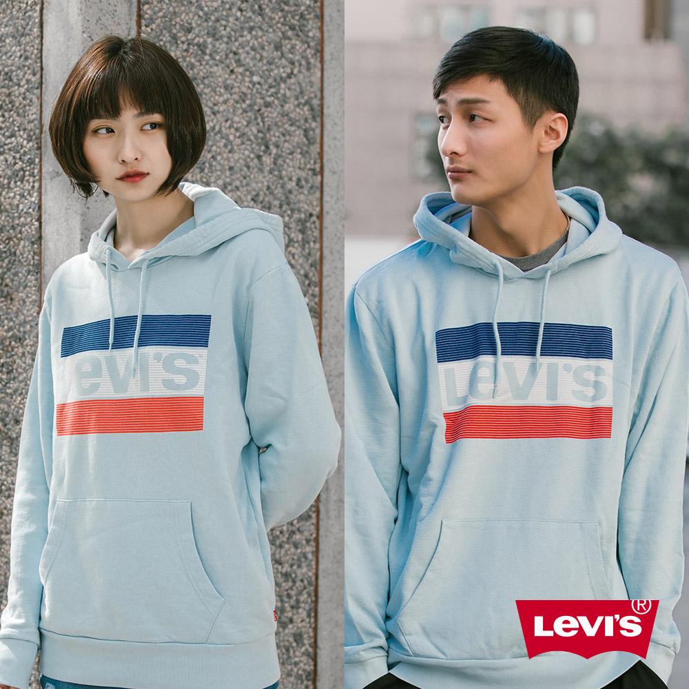 Levis 男女同款 口袋帽T 復古Sportwear Logo