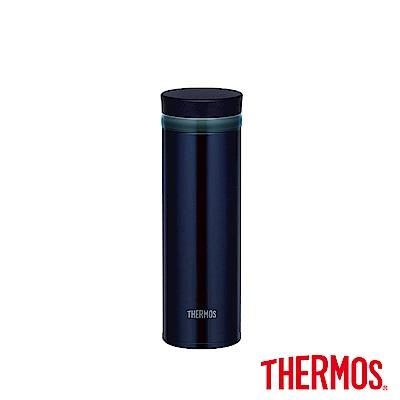 THERMOS 膳魔師 不鏽鋼真空保溫杯0.35L(JNO-350)-BK(黑色)