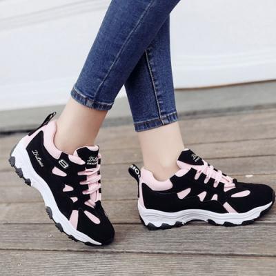 韓國KW美鞋館-輕美學性感寶貝運動老爹鞋(老爺鞋 運動鞋 休閒鞋)(共3色)