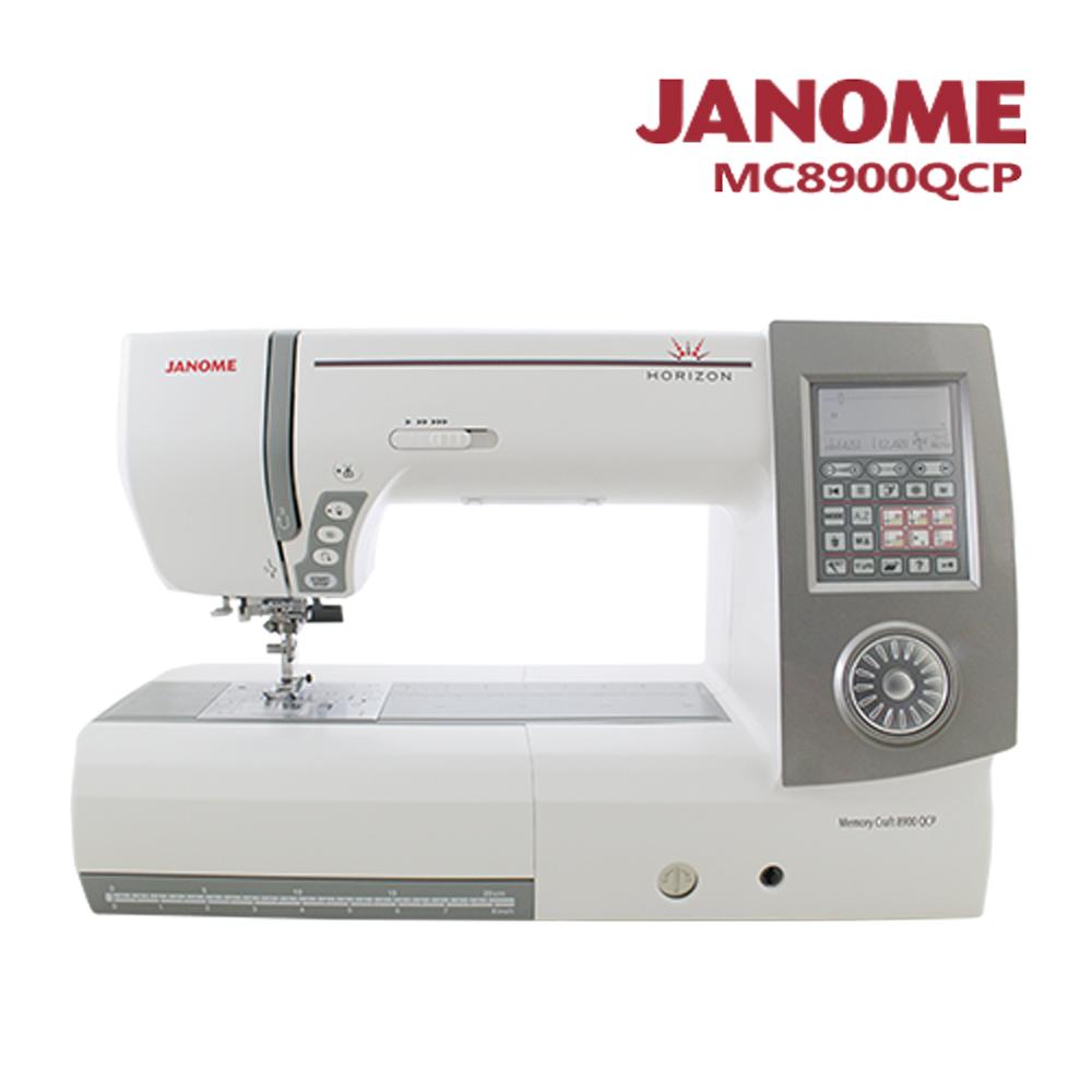 日本車樂美JANOME MC8900QCP 電腦型縫紉機 @ Y!購物